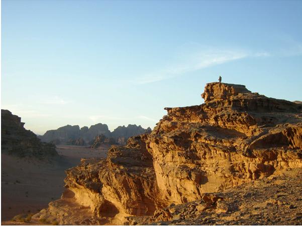 Захватывающий вид в пустыне
