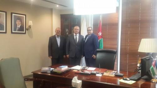Зам. председателя, директор РИДС В.А. Кононенко (в центре), председатель ТП Иордании Н. Аль-Кабарити (справа)