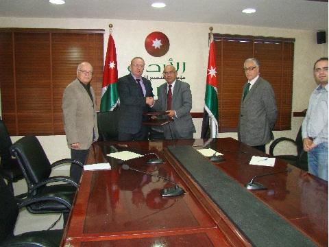 Зам. председателя, директор РИДС Кононенко В.А., Председатель Иорданского Совета  по Инвестициям Авни Аль-Рушоуд