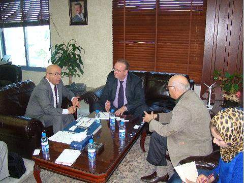 Председатель Иорданского Совета по Инвестициям Авни Аль-Рушоуд, зам. председателя, директор РИДС Кононенко В.А.