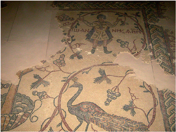 Мозаики VI века