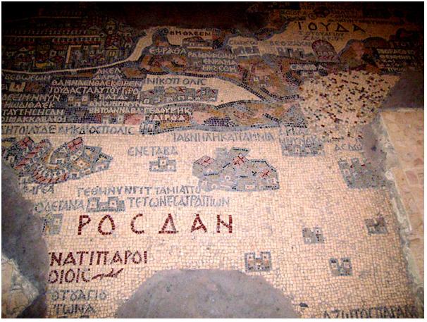 Карта Святой земли