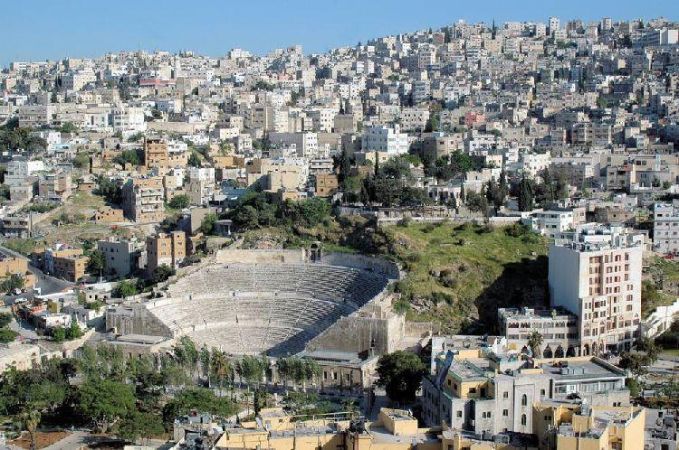 Вид на Амман