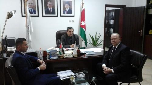 I зам. министра сельского хозяйства Иордании Ради Таравнех, зам. председателя, директор РИДС В.А. Кононенко