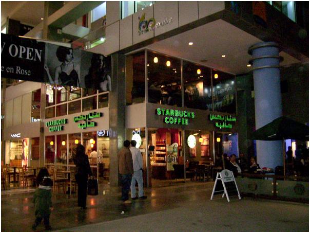 Главная торговая улица Аммана