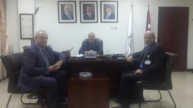 Рабочая встреча зам. председателя, директора РИДС В.А. Кононенко с I зам. министра сельского хозяйства Иордании господином Махмодом Аль-Джама'ани
