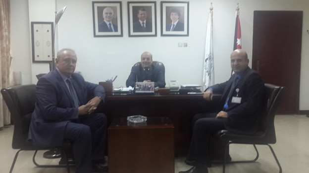 RJBC Deputy Chairman&Director Mr. Kononenko Meets Secretary General of Jordan Ministry of Agriculture H.E. Eng. Mahmod Al-Jama'ani