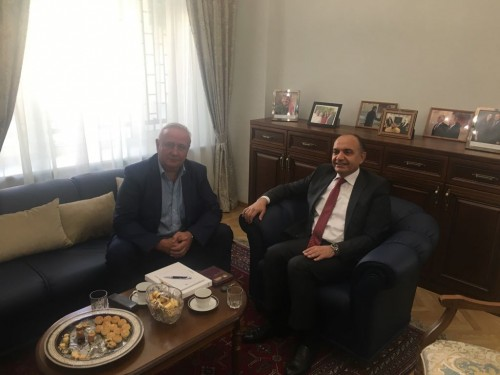 RJBC Deputy Chairman, Director Mr. Kononenko, Ambassador Extraordinary and Plenipotentiary of the Hashemite Kingdom of Jordan to the Russian Federation H.E. Mr. Amjad Adaileh